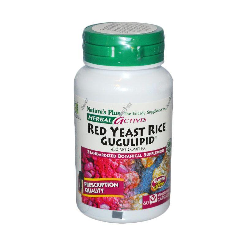 Nature's Plus Red Yeast Rice Gugulipid (60 Capsules)