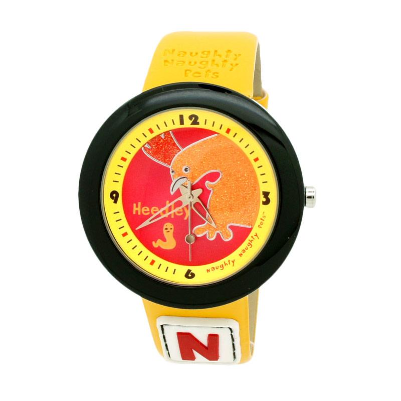 Naughty Naughty Pets NNP-31C Jam Tangan Anak - Kuning