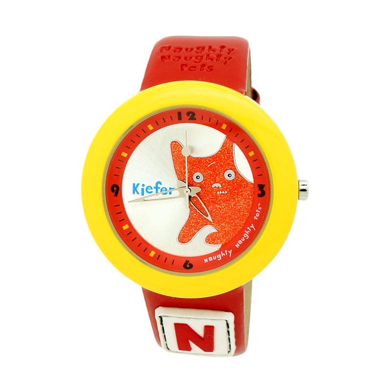 Naughty Naughty Pets NNP-31D Jam Tangan Anak - Merah