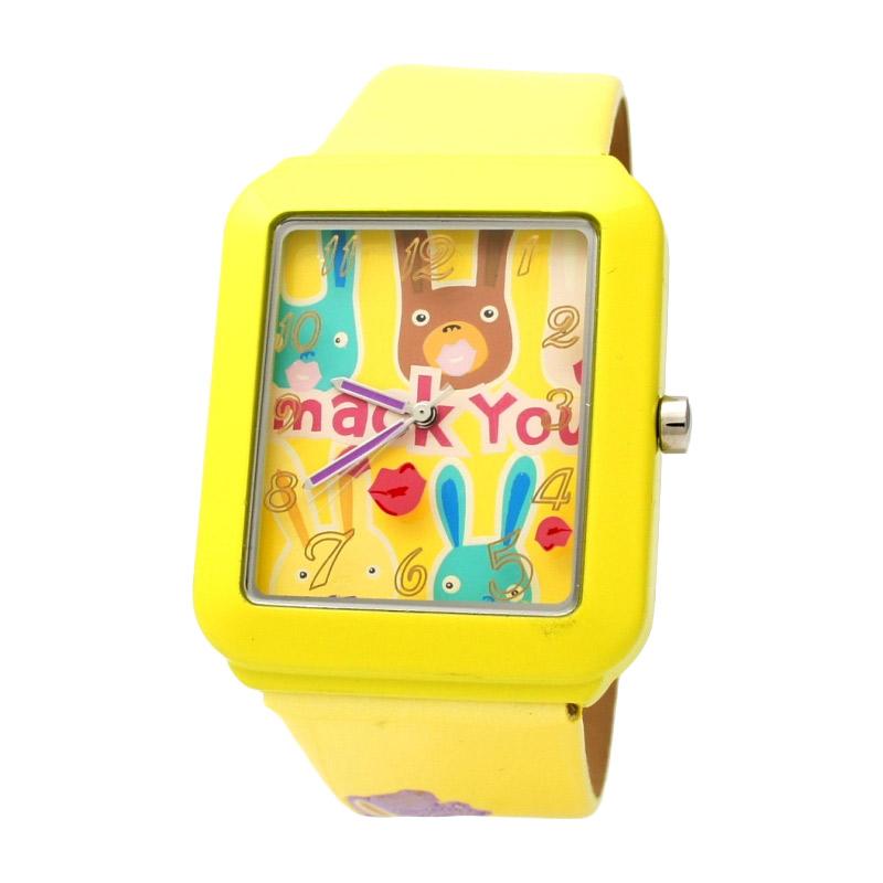Naughty Naughty Pets NNP-56H Jam Tangan Anak - Yellow