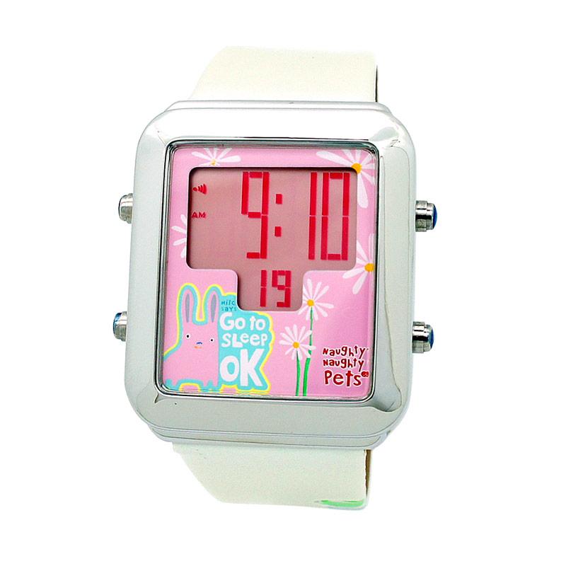Naughty Naughty Pets NNP-58 Jam Tangan Anak - Pink