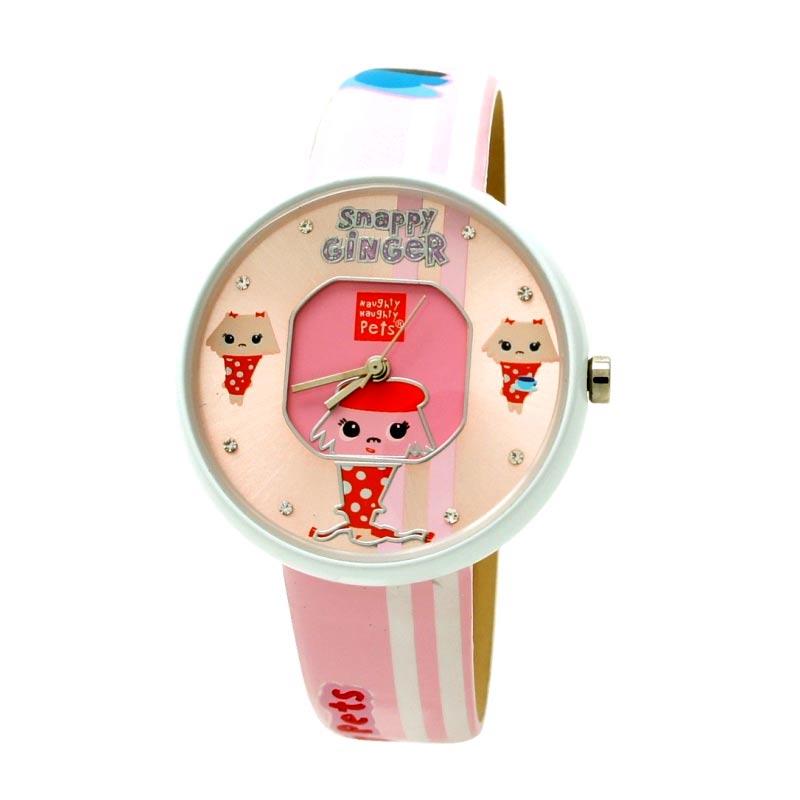 Naughty Naughty Pets NNP-67C Jam Tangan Anak - Pink
