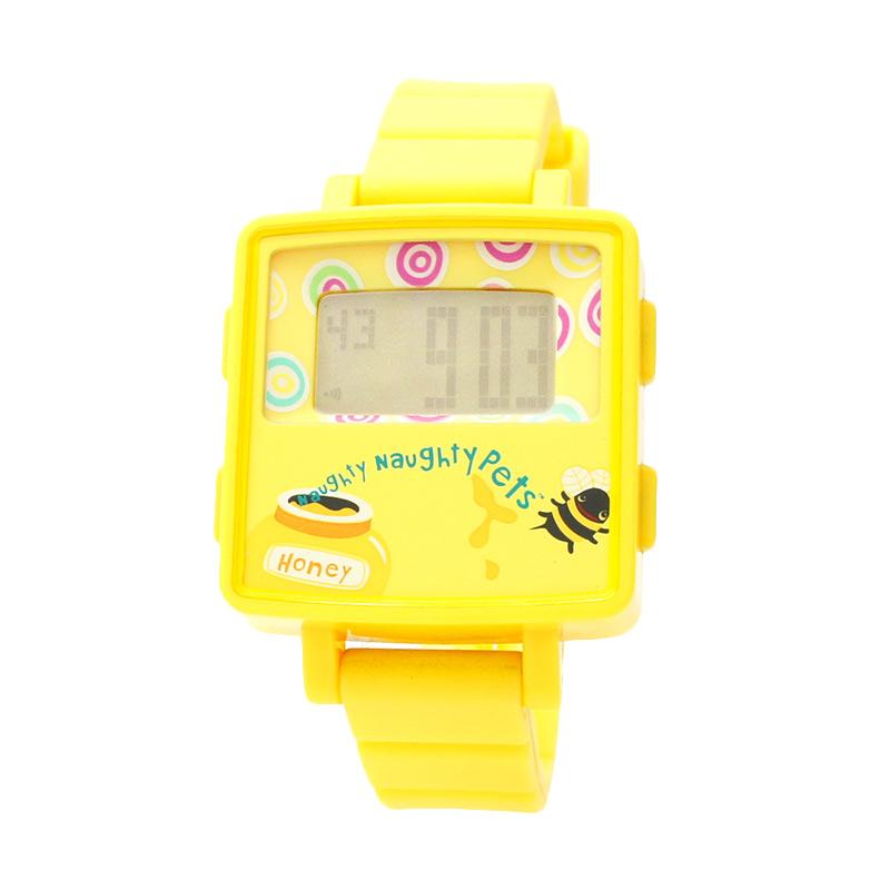 Naughty Naughty Pets NNP-69B Jam Tangan Anak - Yellow