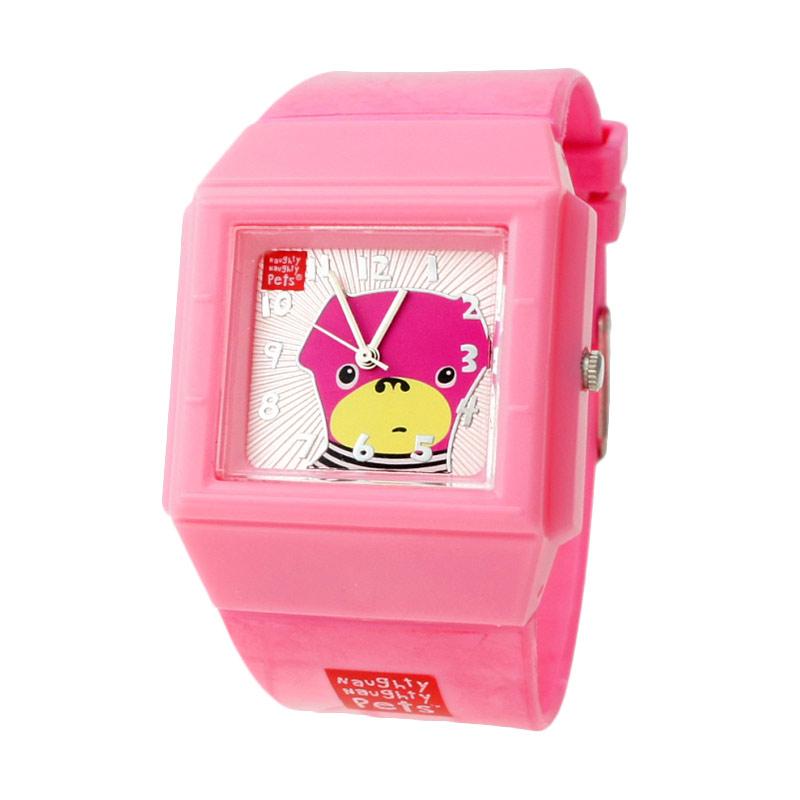 Monday Moms Day - Naughty Naughty Pets NNP-76F Jam Tangan Anak - Pink