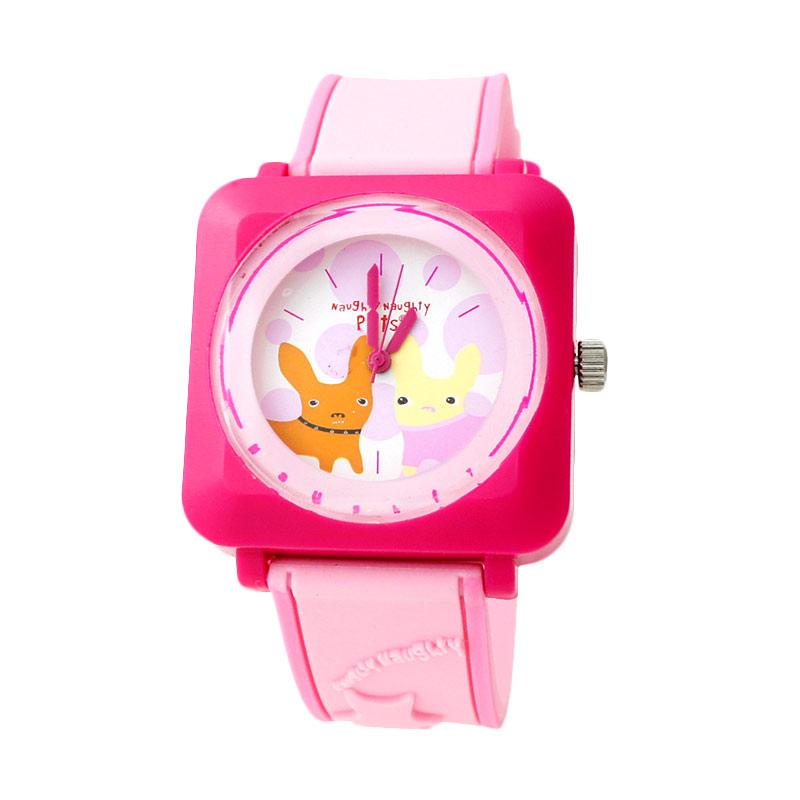 Naughty Naughty Pets NNP-81D Jam Tangan Anak - Pink