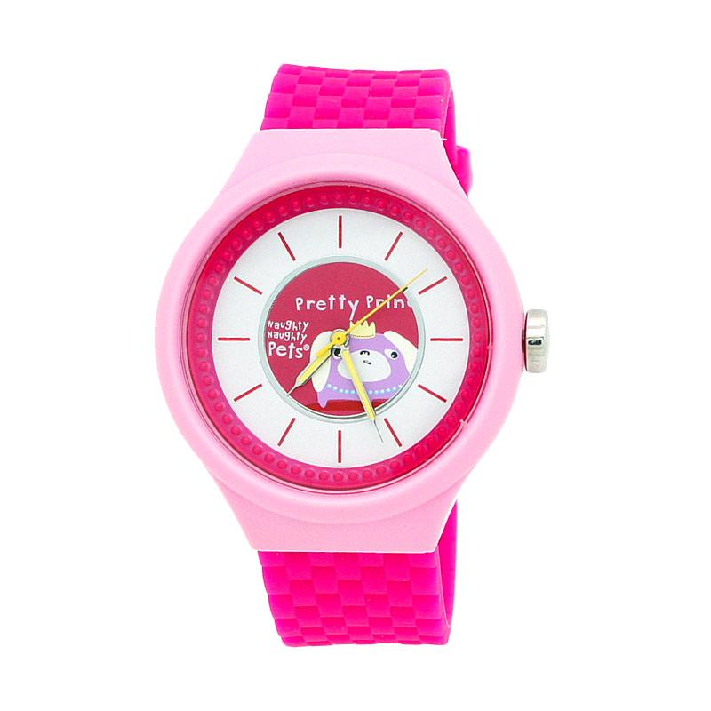 Naughty Naughty Pets NNP-84D Jam Tangan Anak - Pink