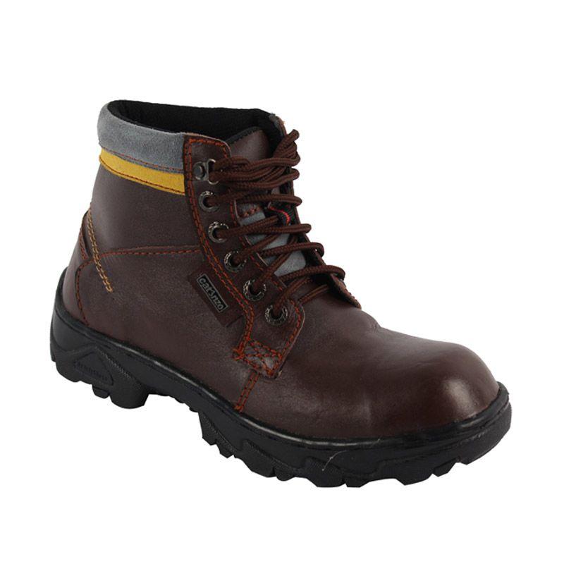 Catenzo Boots Sneakers Dark Brown Sepatu Pria