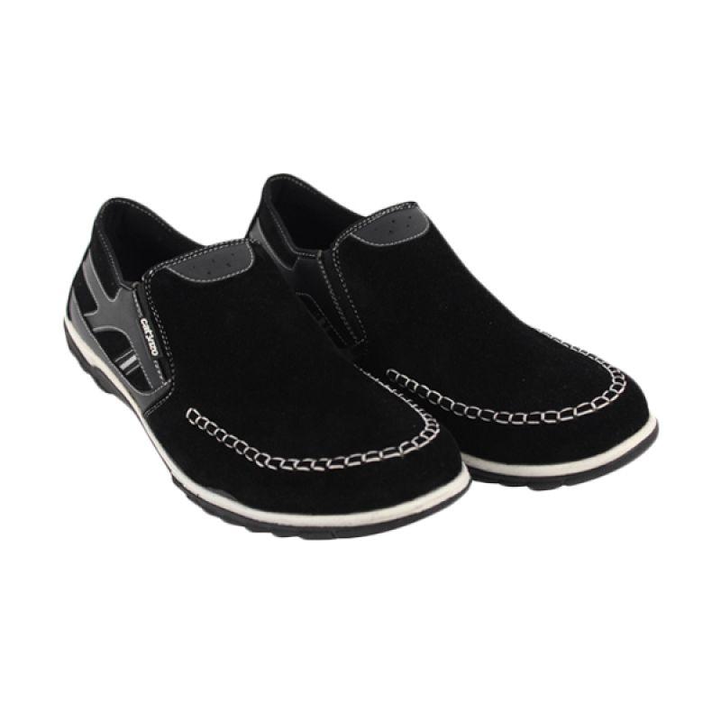 Catenzo Casual Black Sepatu Pria
