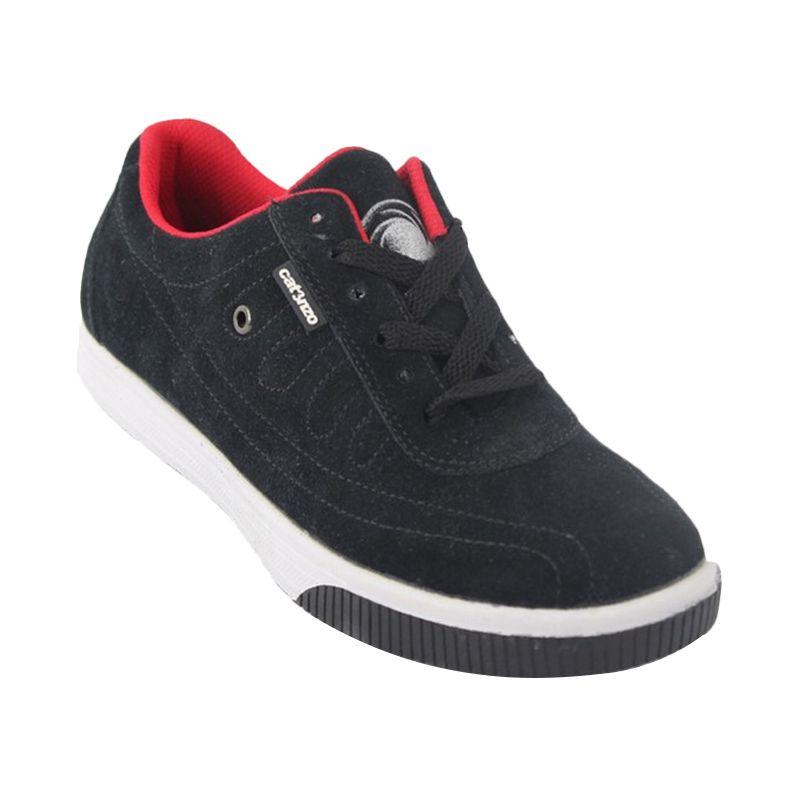 Catenzo Casuals Blamo Black Sepatu Pria