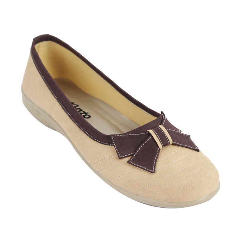 Catenzo Flat Sweet Cream Sepatu Wanita