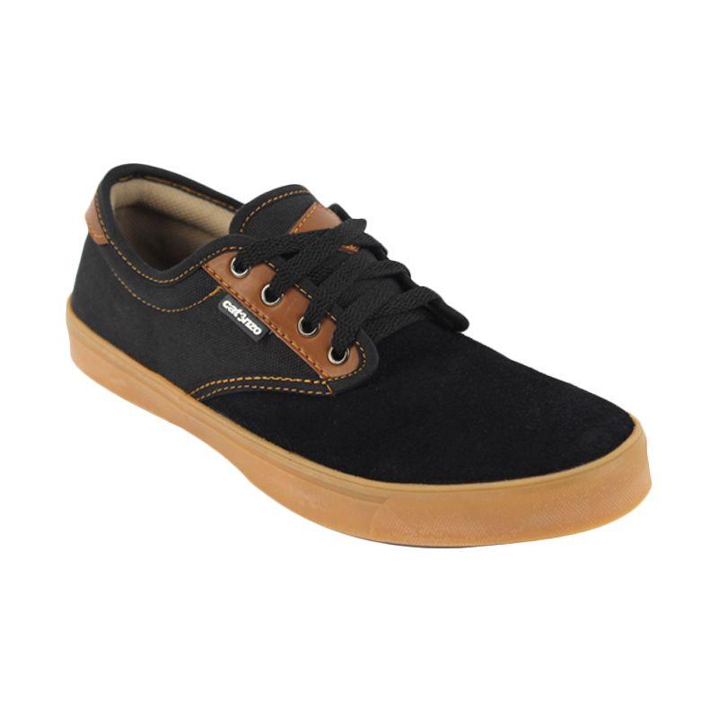 Catenzo Half Black Sepatu Pria
