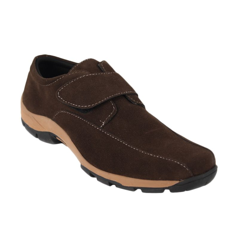 Catenzo High Cut Lowing Brown Sepatu Pria