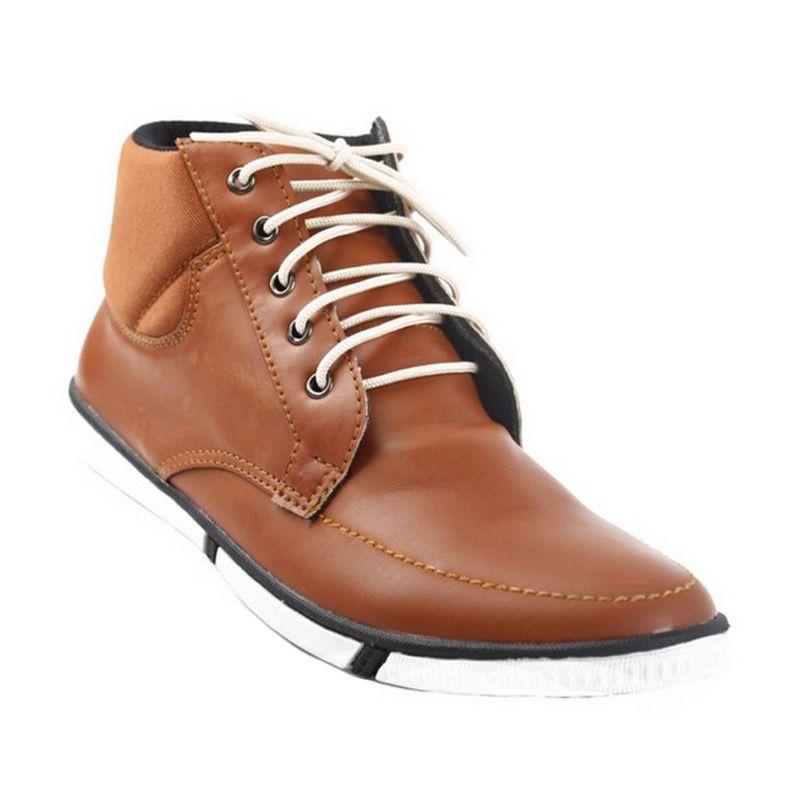 Catenzo High Super Tane Sepatu Pria