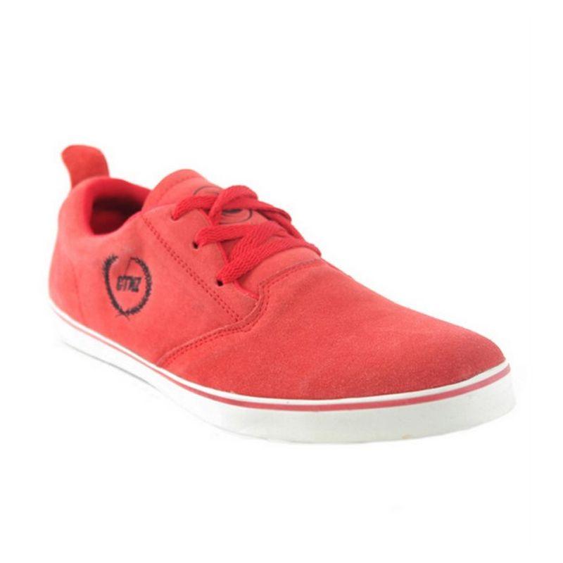 Catenzo Kets Suede Red Sepatu Pria