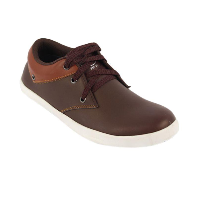 Catenzo Lexi Brown Sepatu Pria