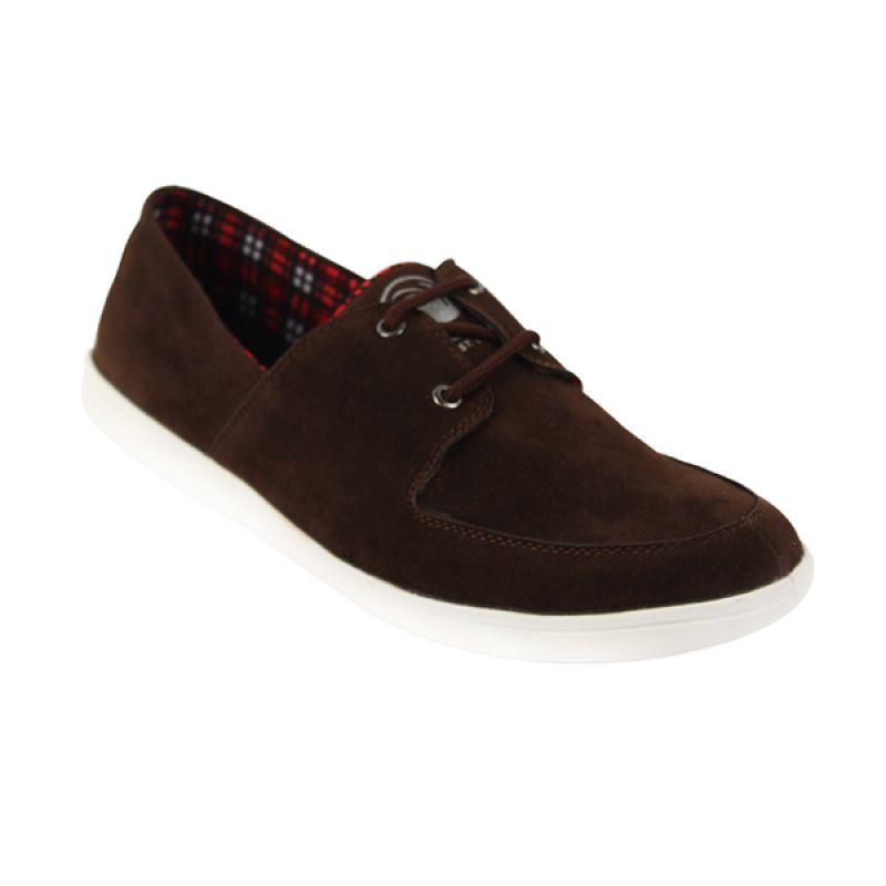 Catenzo Scandinavia Brown Sepatu Pria