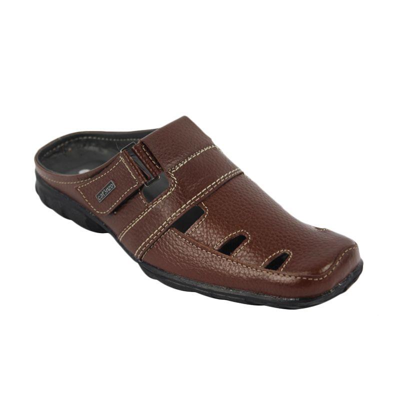 Catenzo Slip On Cambo Brown Sepatu Pria