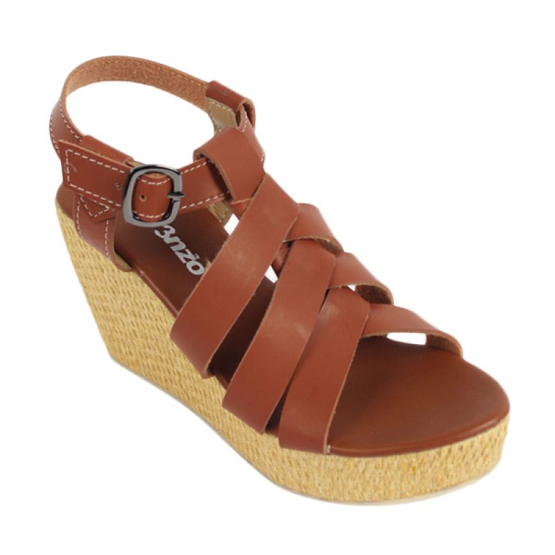 Catenzo Wedges Elonia Tane Sepatu Wanita