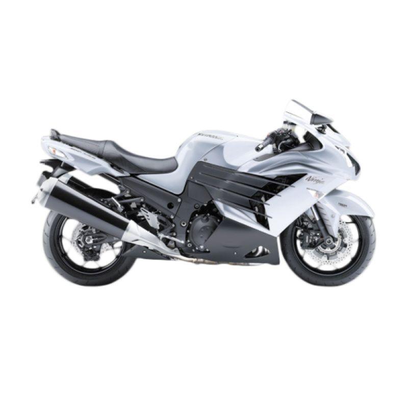 harga Kawasaki Ninja ZX-14R White Sepeda Motor [DP 160.000.000] Blibli.com