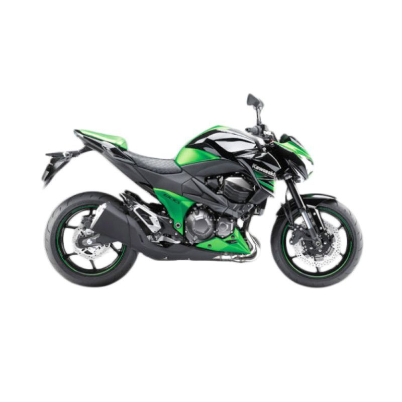 Kawasaki Z800 Green Sepeda Motor [DP 85.000.000]
