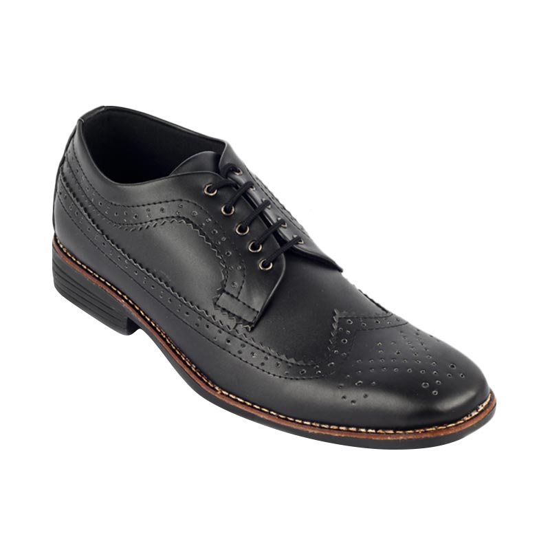 harga Navara Midgard Black Sepatu Pria - Hitam Blibli.com