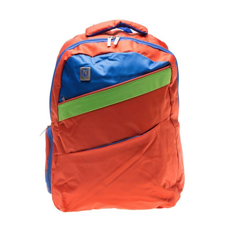Navy Club 3271 Oranye Backpack Tas Ransel