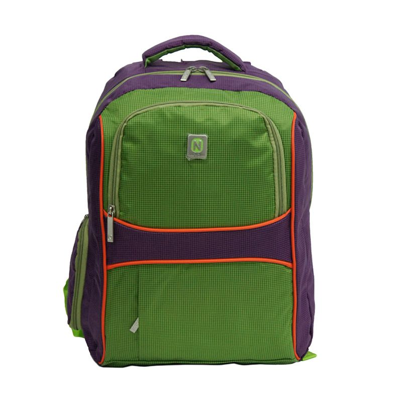 Navy Club 3272 Ungu Ransel Laptop + Cover