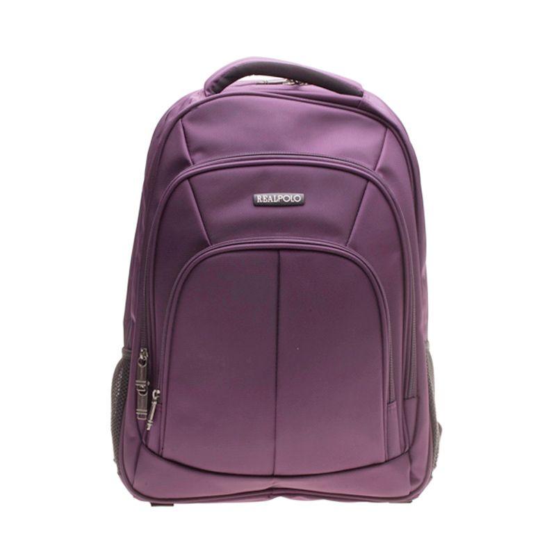 Real Polo 5762 Ungu Backpack Tas Ransel