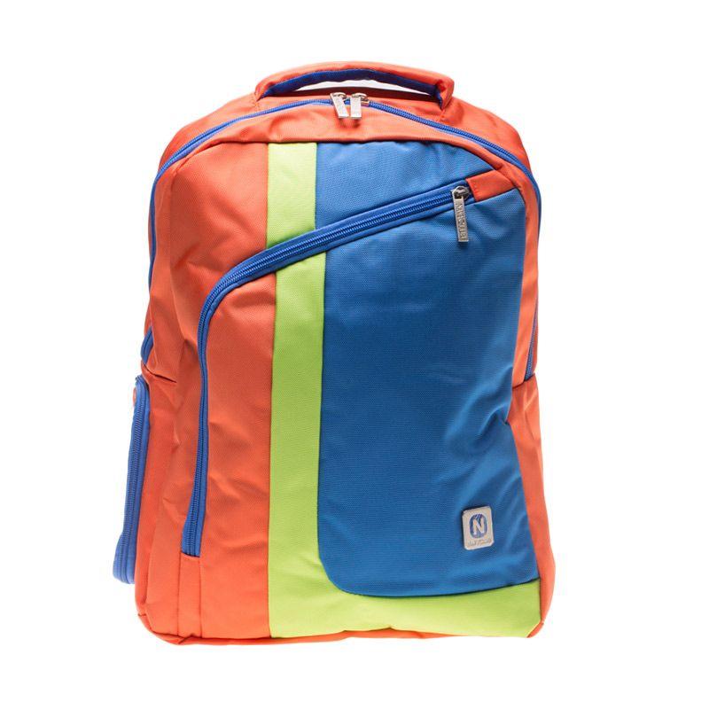 Navy Club 3260 Oranye Backpack Tas Ransel