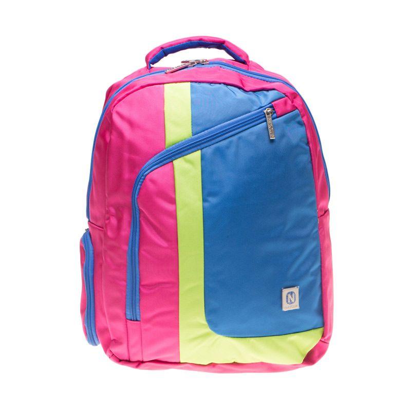 Navy Club 3260 Pink Backpack Tas Ransel