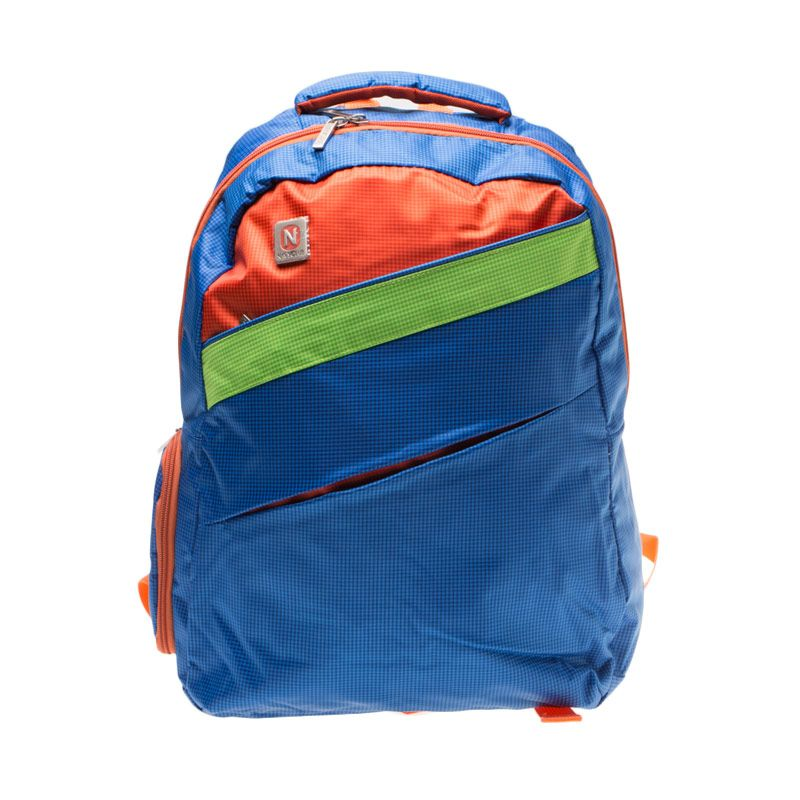 Navy Club 3271 Biru Backpack Tas Ransel