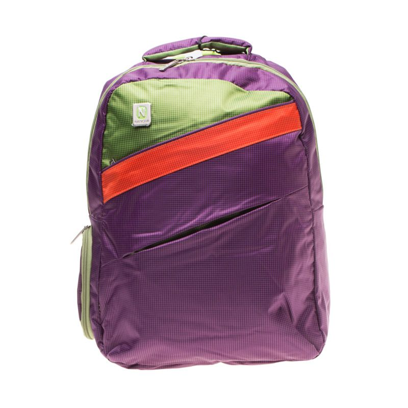 Navy Club 3271 Ungu Backpack Tas Ransel