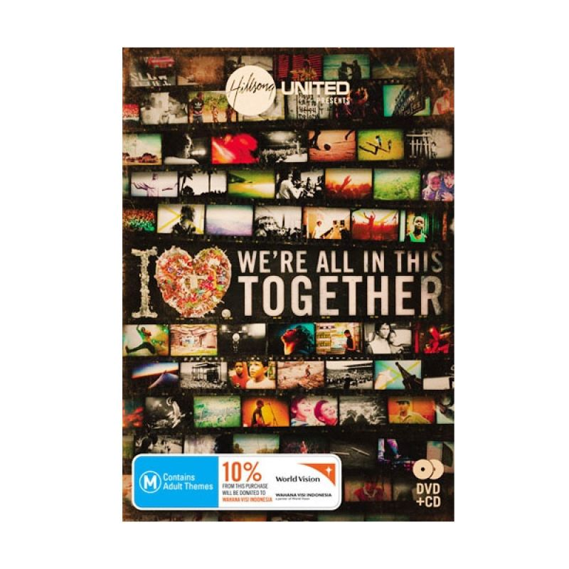 Insight Unlimited Hillsong We're All in This Together CD Musik