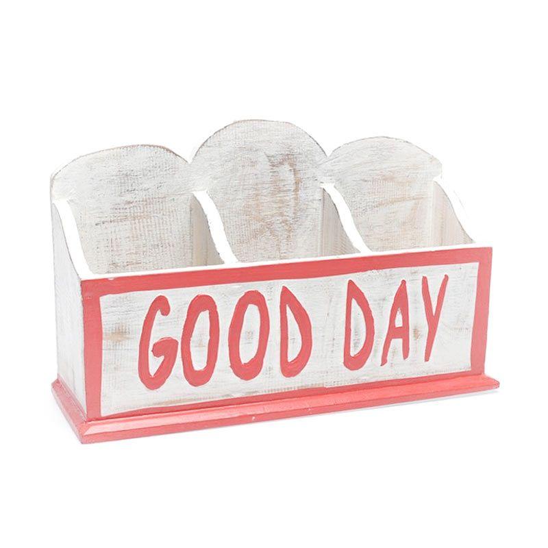 Ncore Good Day Heart Hooden Merah Putih Box Multifungsi