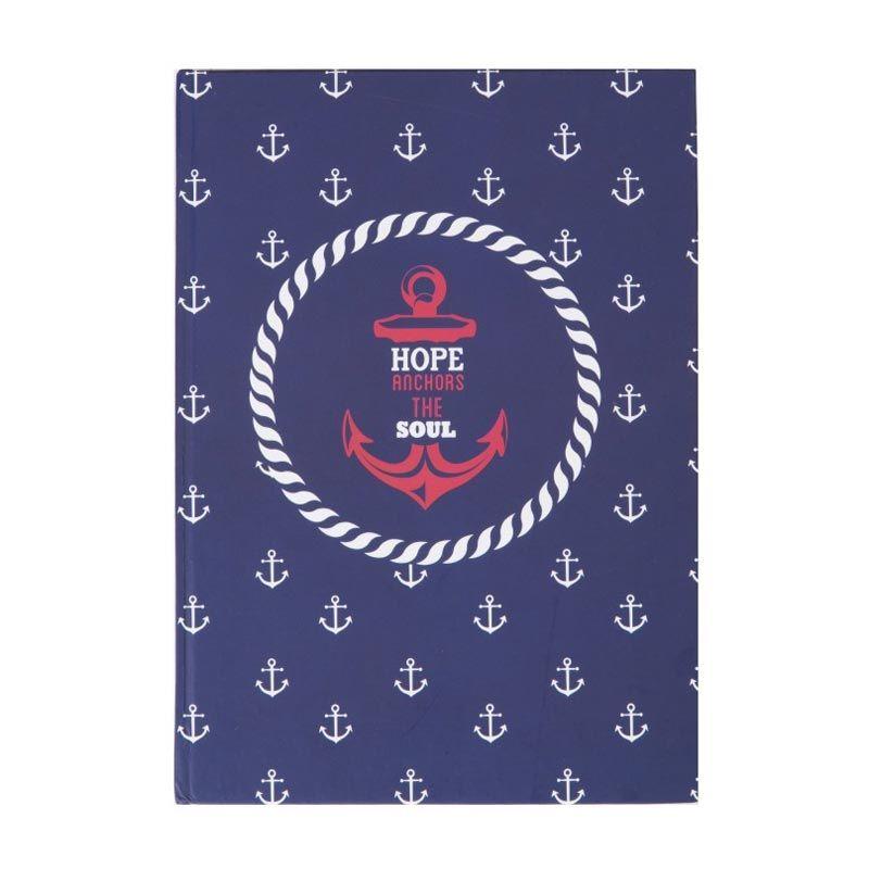 Ncore Hope Anchors the Soul Biru Putih Merah Buku Catatan