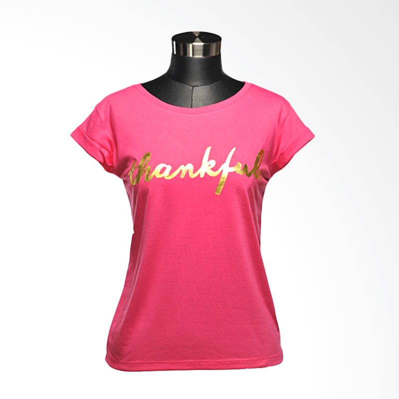 Ncore Thankful Pink Atasan Wanita