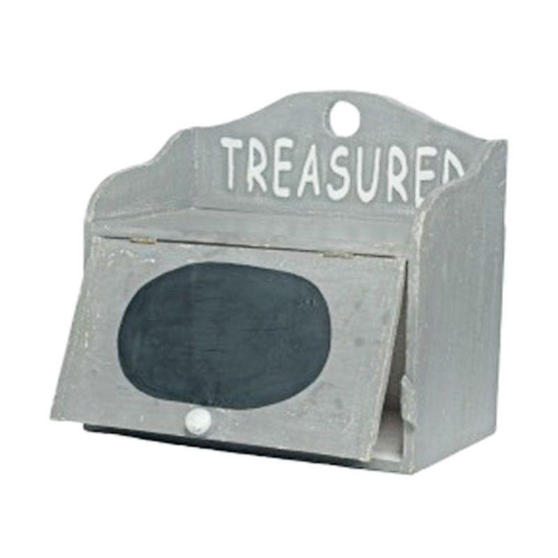 Insight-Unlimited Treasured Grey Box Pajangan