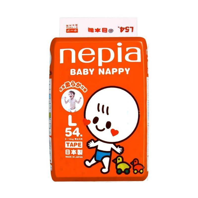 harga Nepia Tape Popok Bayi L54 Blibli.com