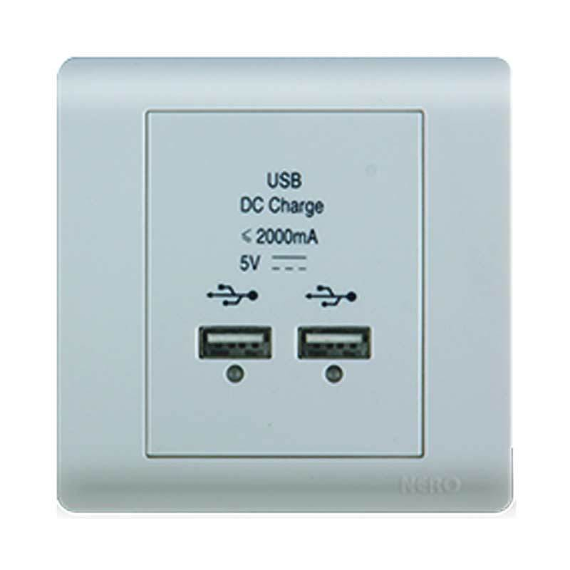 Nero Casa F16 F1687 USB Outlet