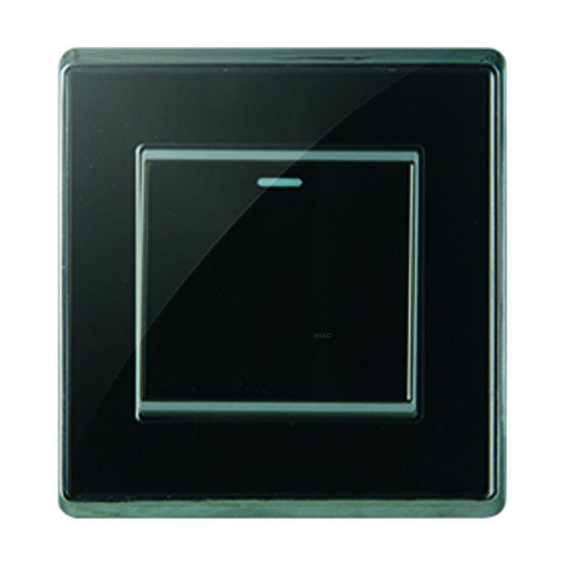 Nero Crystal A9 A91612-B Black Saklar