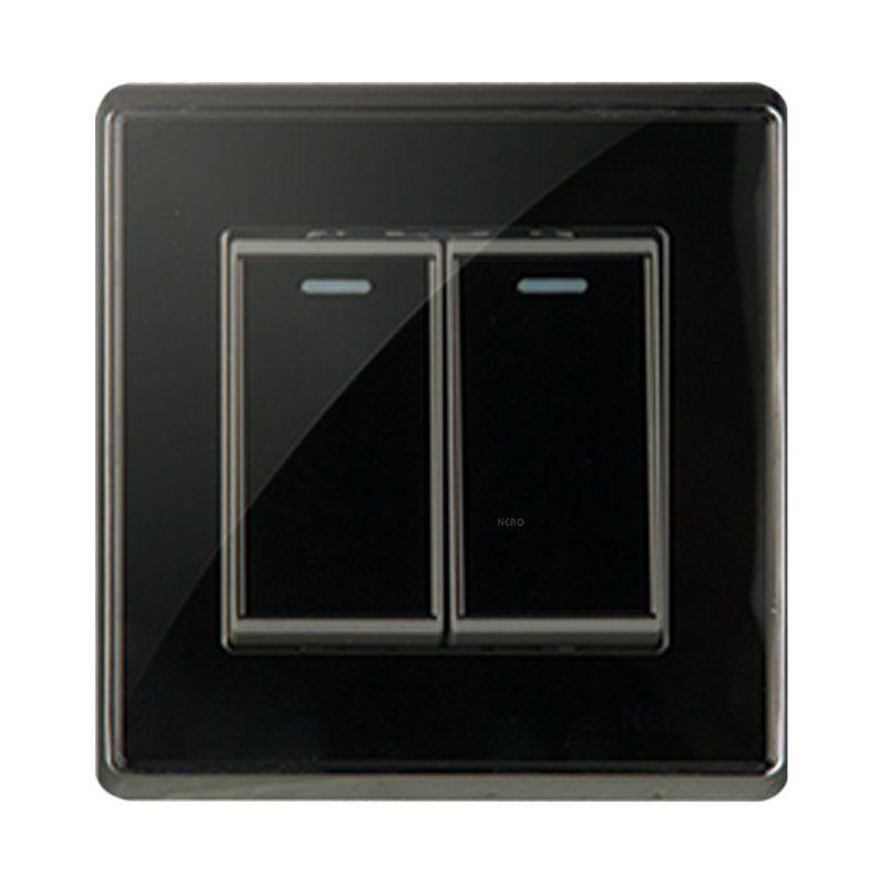 NERO CRYSTAL A9 A91621-B Black Saklar
