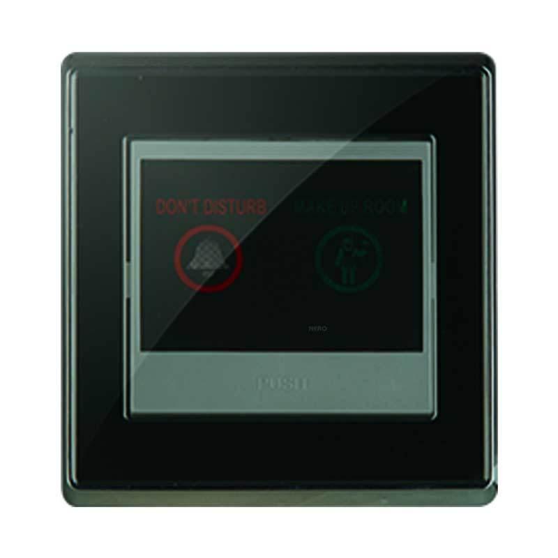 Nero Chrystal A9 A972-B Black Saklar Bel Hotel