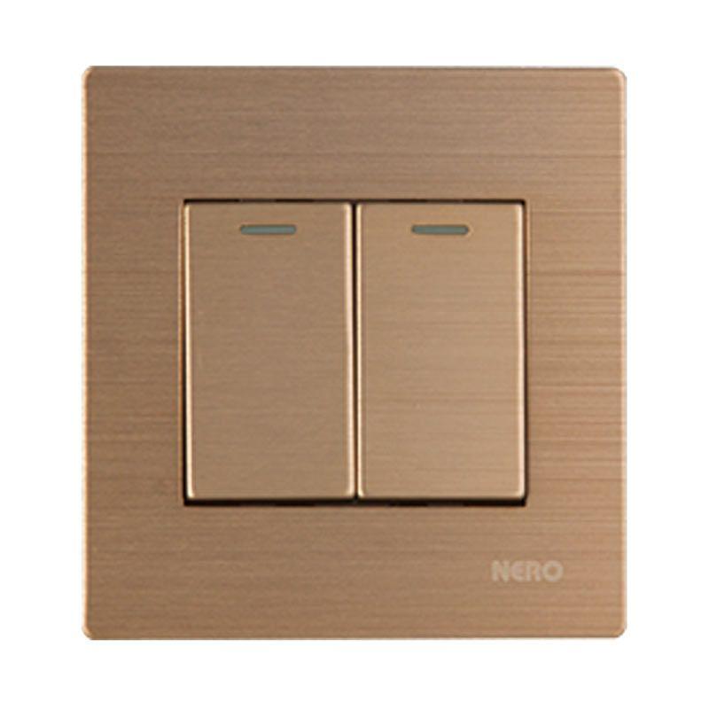 Nero Titanium V10-G V101622-G Gold Saklar