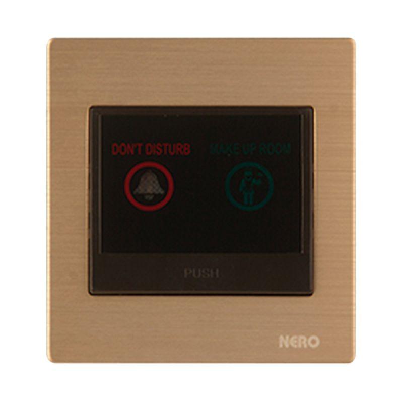 Nero Titanium V10-G V1072-G Gold Saklar Bel Hotel
