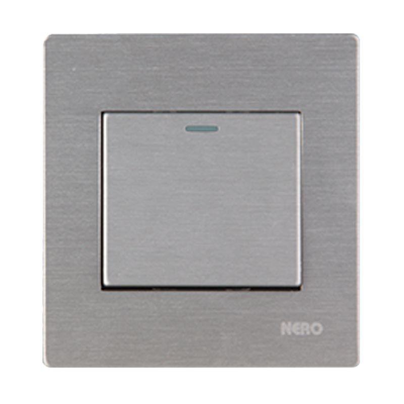 NERO Titanium V10-S V101611-S Silver Saklar