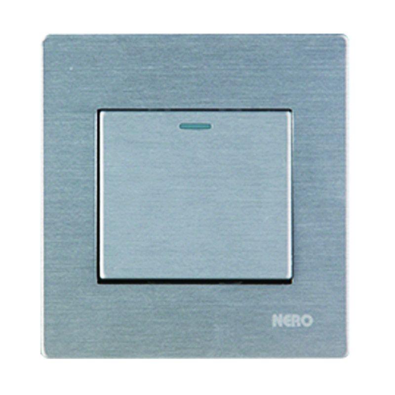 Nero Titanium V10-S V101612-S Silver Saklar