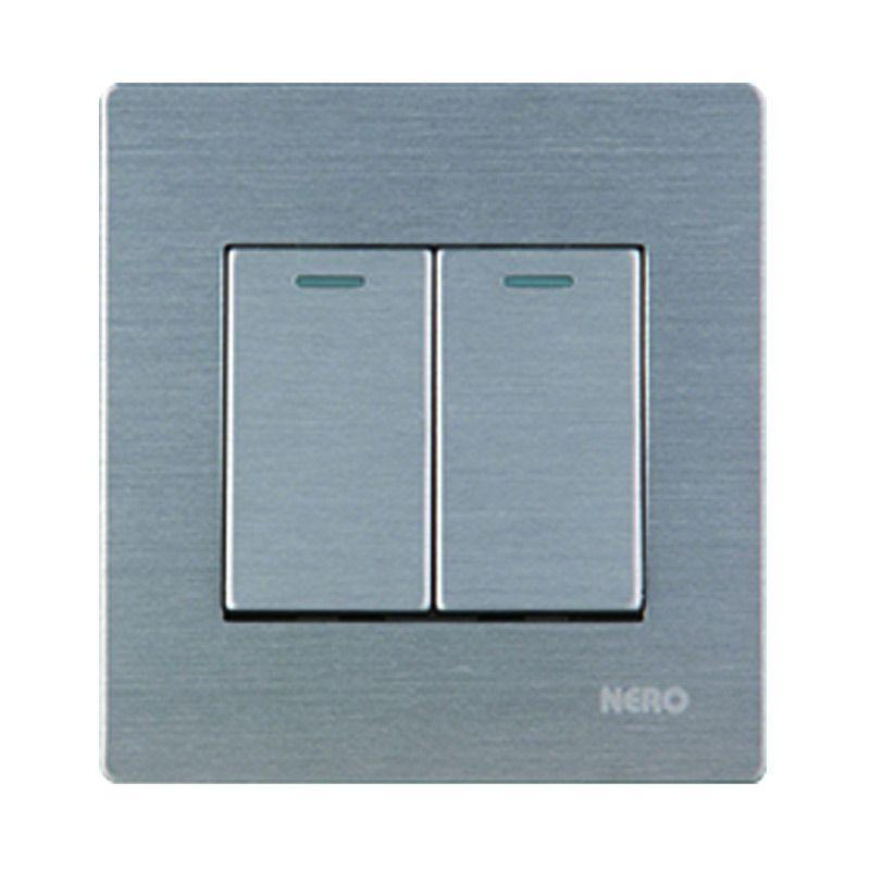 NERO TITANIUM V10-S V101621-S Silver Saklar