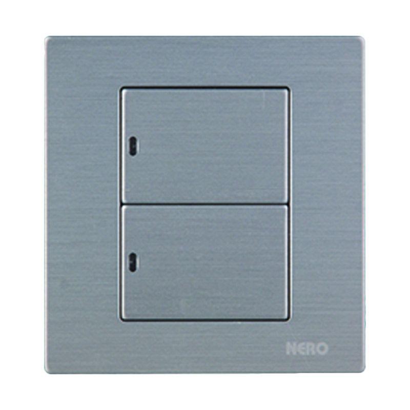 Nero Titanium V10-S V101621D-S Silver Saklar