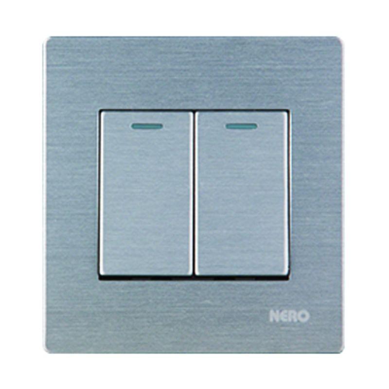 Nero Titanium V10-S V101622-S Silver Saklar