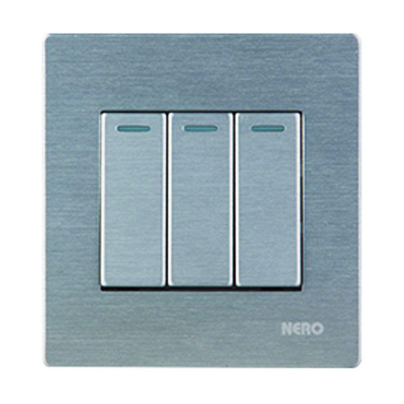 Nero Titanium V10-S V101631-S Silver Saklar